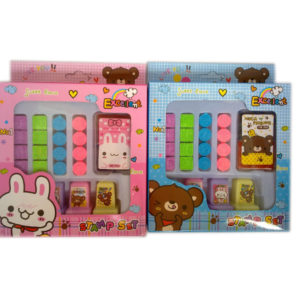 Bear and rabbit stamp Cartoon seal toy educational toy