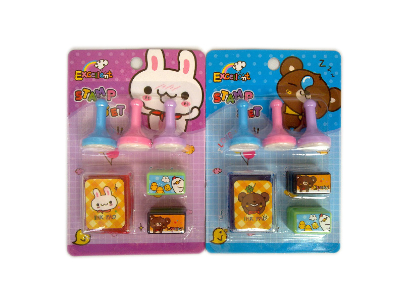Animal stamp cartoon seal toy educational toy