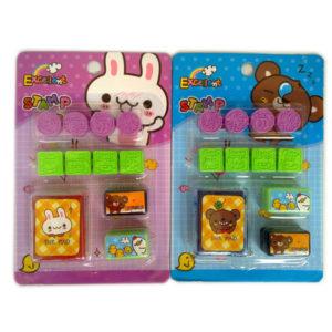 Animal stamp cartoon seal toy educational toy