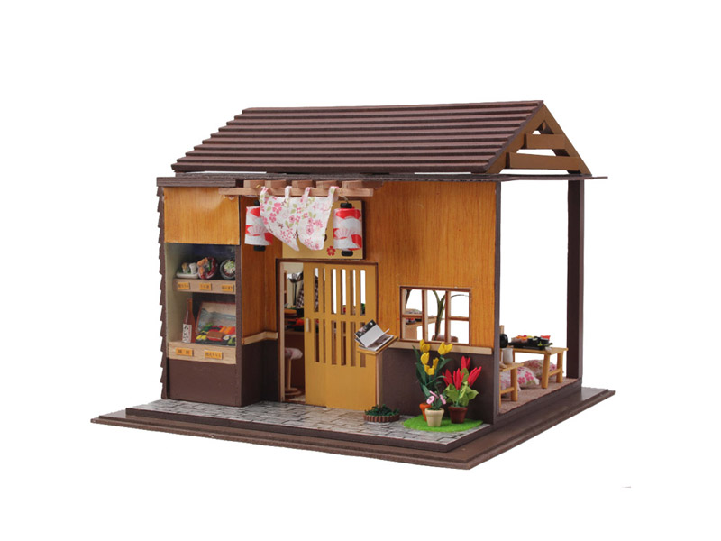 DIY assembly house wooden model toy educational toy