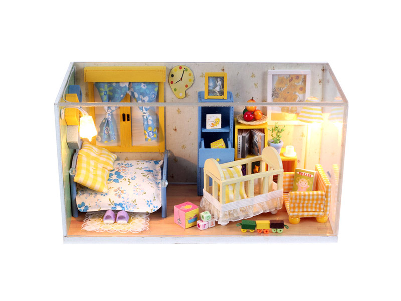 House model DIY assembly toy educational toy