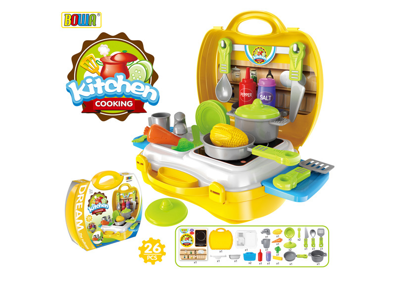 Kitchen set toys funny toy pretending play toy lilliput for Funny kitchen set