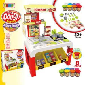color dough toy DIY toy kitchen set toy