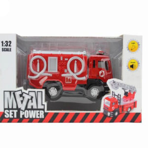 toy fire engine pull back toy metal vehicle
