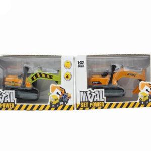 excavator toys pull back car vehicle toy