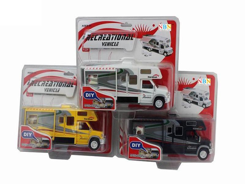 motor homes toy metal car cute toy