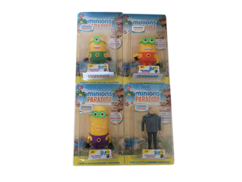 Minions toy cartoon toy projection toy