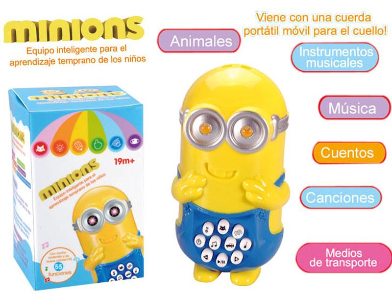 Minions story machine cartoon toy lighting toy