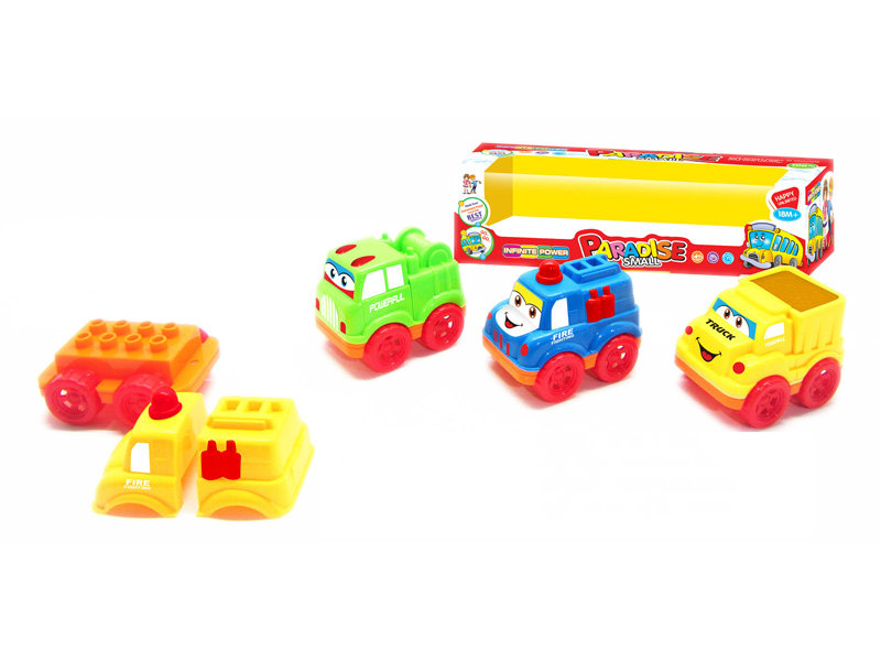 block car toy friction power toy cartoon vehicle