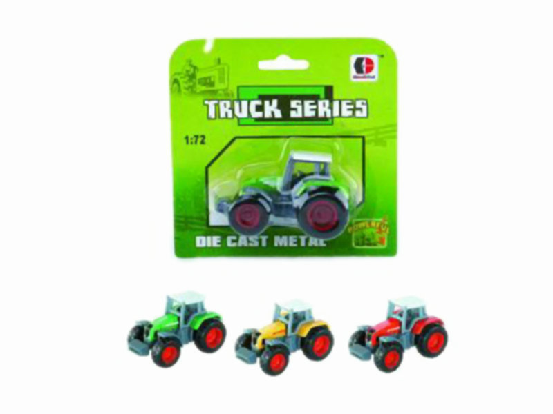 truck series toy metal car free wheel toy