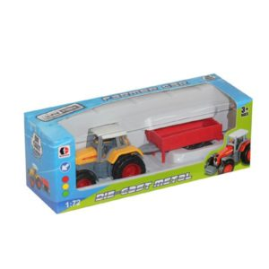metal car toy farmer vehicle free wheel toy