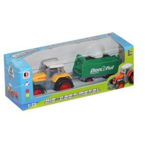 toy farmer car metal toy free wheel truck