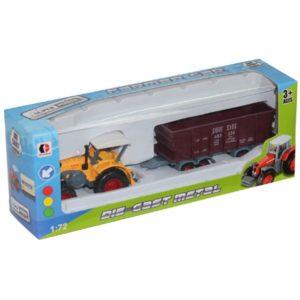 farmer car toys metal vehicle free wheel toy