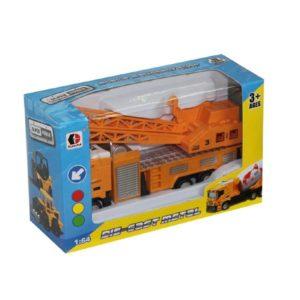 construction car free wheel toy metal vehicle