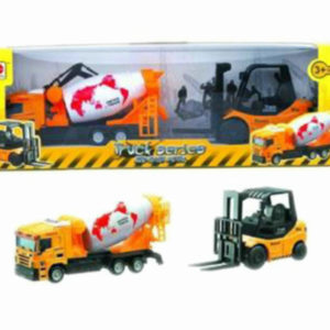 construction car set metal vehicle free wheel toy