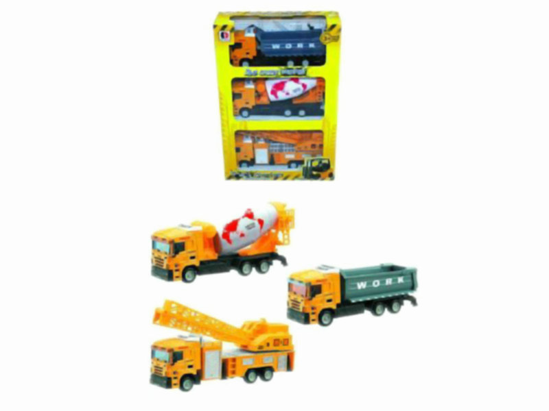construction vehicle set metal car toy cute toy