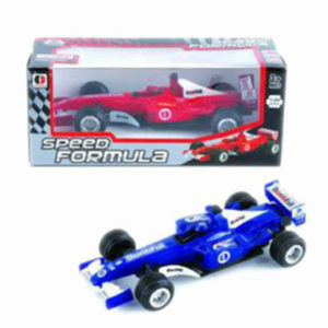 formula car toy pull bacl toy metal vehicle