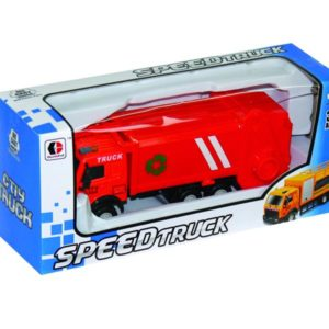 sanitation truck free wheel toy cute vehicle toy