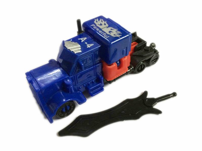 drag head car vehicle toy deformation toy