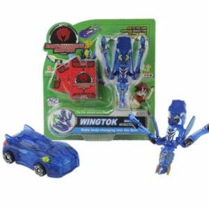 Deformation car toy plastic car toy transformation car
