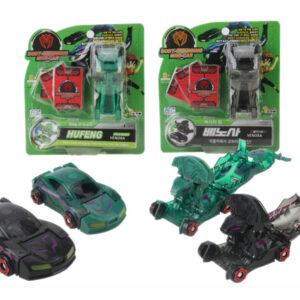 Deformation robot car transformation toy plastic toy