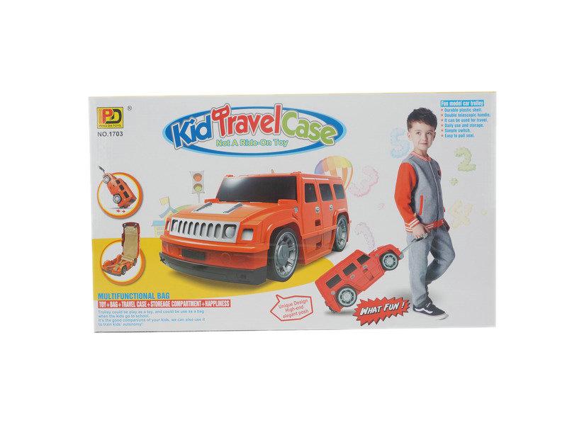 Travel case toy car shape travel case cartoon toy