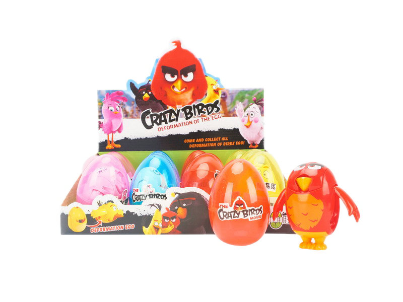 Transformation egg Angry Birds egg toy funny toy