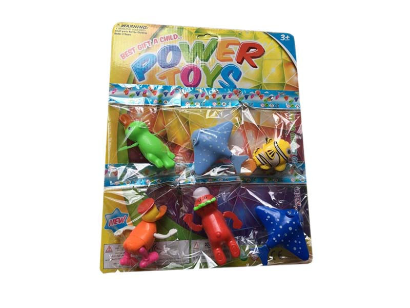 Swimming animal wind up toy cute toy