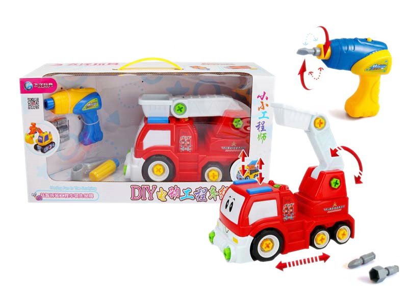 DIY truck toy engineering car vehicle toy