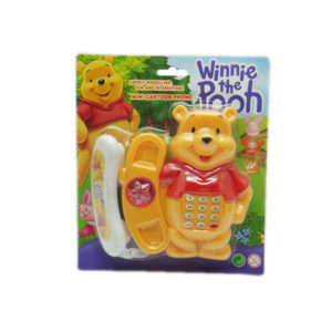 Cartoon telephone funny toy plastic toy