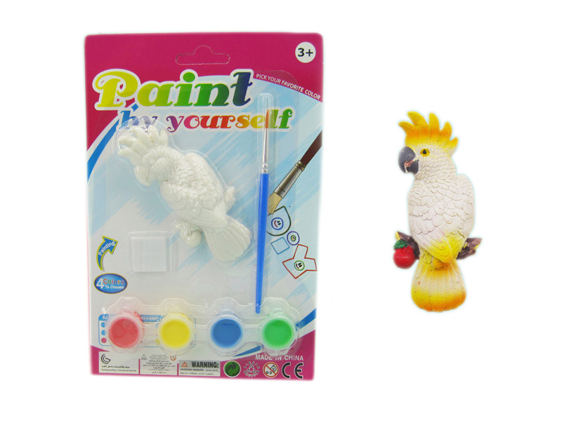 Painting toys educational toy parrot toy