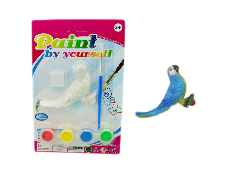Bird painting toy animal toy educational toy
