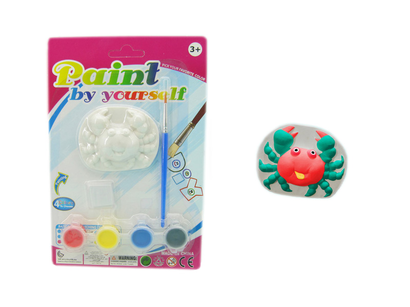 Crab painting toy educational toy animal toy