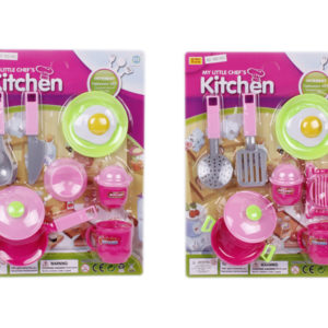 Tableware toy set cooker toy pretending play toy