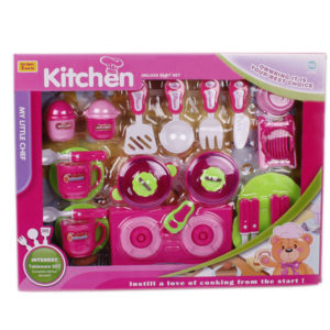 Tableware set toy kitchen toy cooker toy