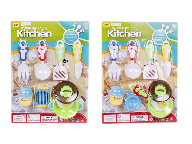 Dinner toy pretending play toy kitchen set toy