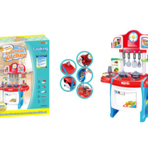 Cooking table toy kitchen toy set tableware toy
