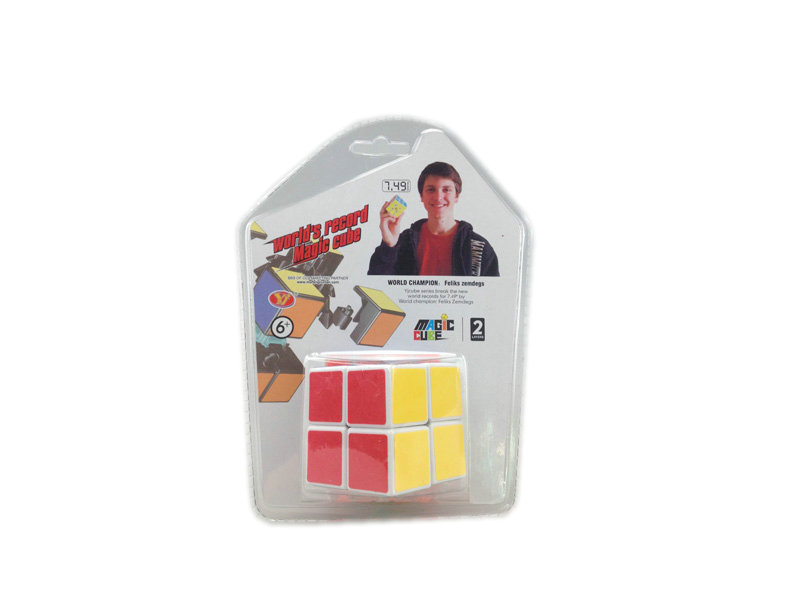 Intelligent game toy plastic magic cube funny game