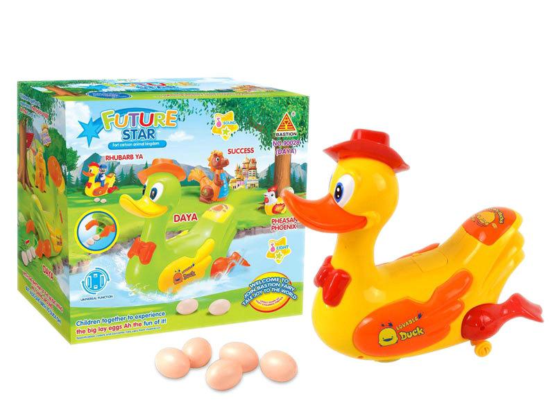 B/O duck universal duck toy cartoon toy