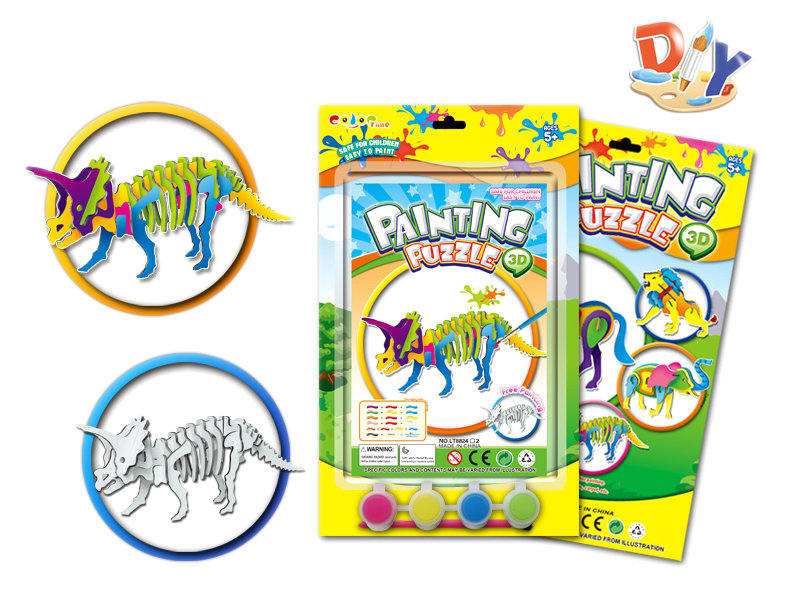 DIY painting puzzle drawing toy DIY toy