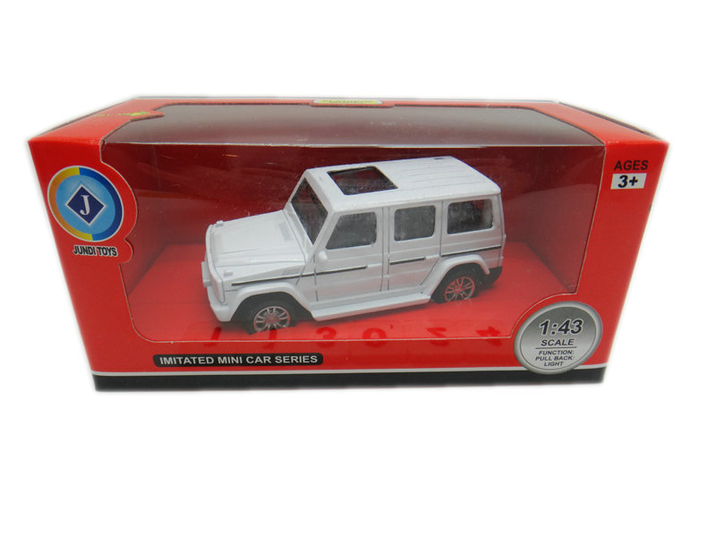 Metal cross country vehicle 1:43 Alloy car toy toy vehicle