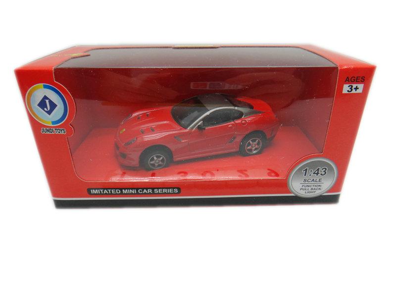 1:43 Alloy car toy metal ferrari car toy toy vehicle