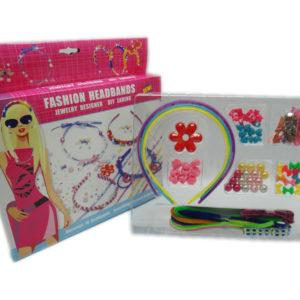 DIY headband toy jewelry toy set design toy