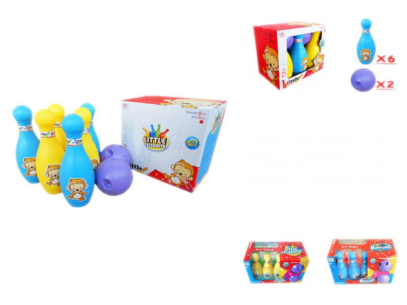 Bowling set sports game toy children toy