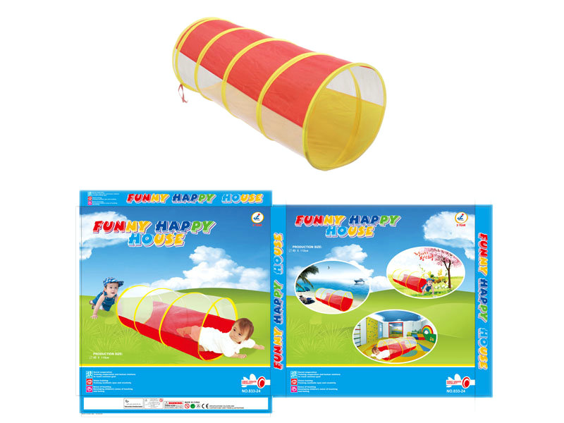 Tunnel tent cartoon toy tent play set
