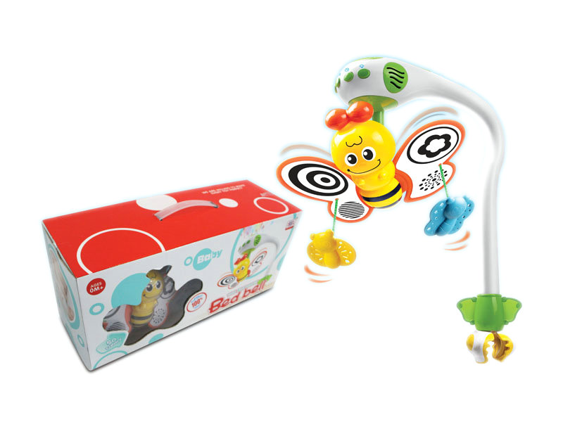 B/O Bed bell baby toy funny game toy