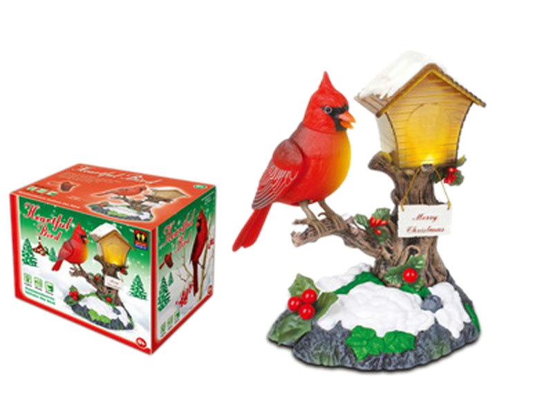 Heartful bird toy simulation toy cartoon toy