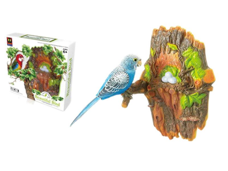 Simulation bird toy heartful bird toy cartoon toy