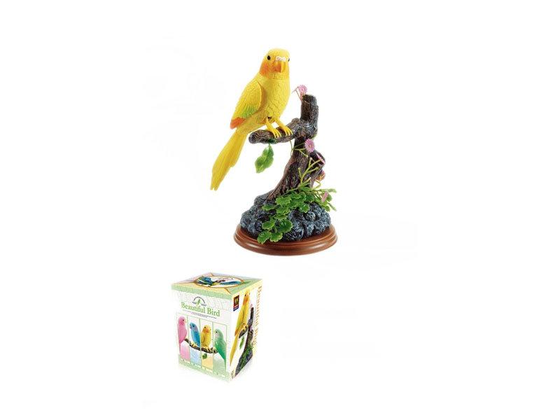 Heartful bird toy cartoon toy simulation toy
