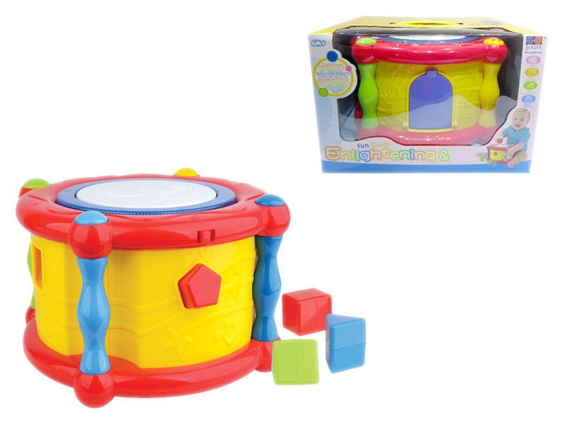 Plastic drum Musical toy drum instrument